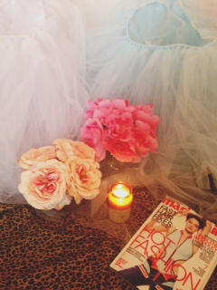 Epitome of Girly-Girl // Tulle Beyond Compare