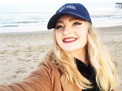 beach shellfie